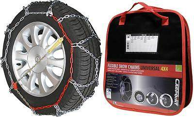 "Chaines Neige 4X4 - Camping Car - Utilitaire - CARPOINT RV250 - 15"" à 18"" NEUVES"