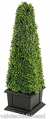 Geko Products Artificial cm Boxwood Tower Plant - 81 cm H