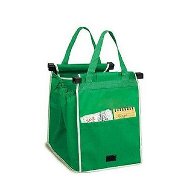 Reusable Shopping Bags Eco Foldable Trolley Tote Grocery Cart Storage Travel Bag