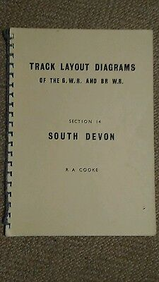 Track layout diagrams of GWR and BR WR  14 South Devon   R A Cooke