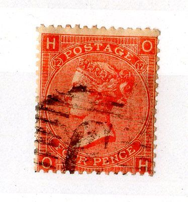 British Levant QV 4d Red GB Used in Constantinople VFU X4918