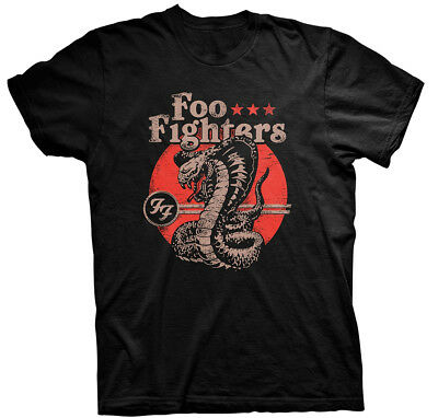 Foo Fighters 'Snake' T-Shirt - NEW & OFFICIAL!