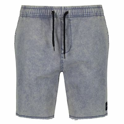 Passenger alfie chino shorts acid wash