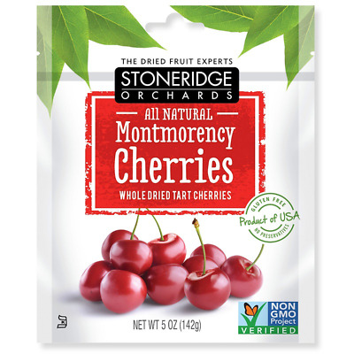 New Stoneridge Orchards Montmorency Cherries Whole Dried Fruit Tart Gluten Free