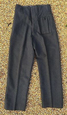 Original WW2 RAF Battledress Trousers Dated 1946 BD Flying Helmet Goggles