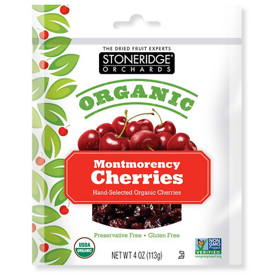 New Stoneridge Orchards Montmorency Cherries Whole Dried Fruit Gluten Free Daily