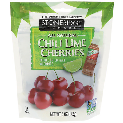 New Stoneridge Orchards Chill Lime Cherries Whole Dried Fruit Gluten Free Daily