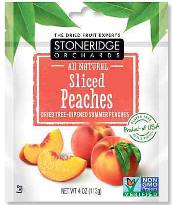 New Stoneridge Orchards Sliced Peaches Whole Dried Fruit Gluten Free All Natural