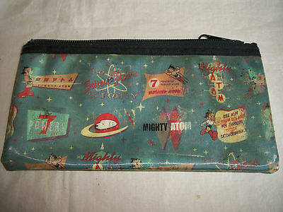 Vintage Tezuka Shin Japan Astro Boy Mighty Atom Hologram Flicker Purse Handbag