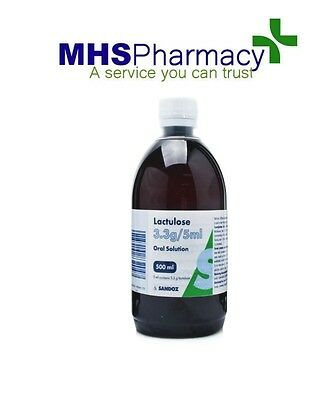 Lactulose Solution For Constipation 500ml