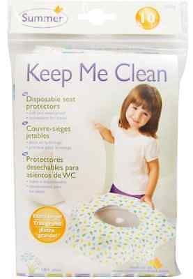 New Summer Infant Keep Me Clean Disposable Seat Protectors Extra Large Soft Care
