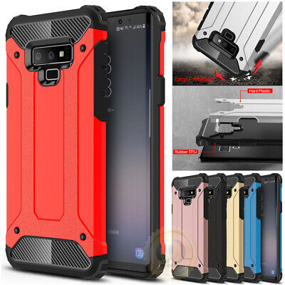 For Samsung Galaxy S10 Plus S10e S9 A50 Case Tough Armor Shockproof Phone Cover