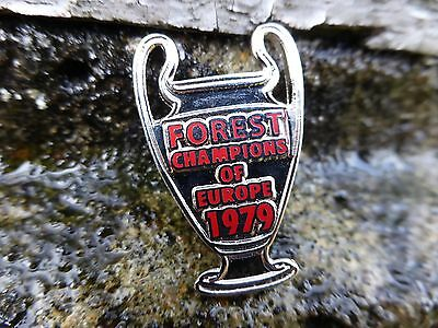 Nottingham Forest NFFC Champions of Europe 1979 Enamel Pin Badge