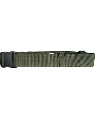 KOMBAT ARMY STYLE PLCE Webbing Belt Olive Quick Release Buckle Cadets Forces