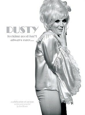 Dusty Springfield illustrated bio 'Looking Good Isn't Always Easy..' 416 pages