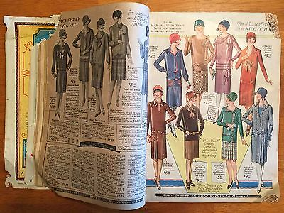 Original 1927-28 Fall & Winter Sears, Roebuck & Co Catalog of Philadelphia