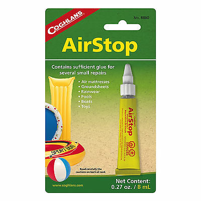 Coghlan's Airstop Vinyl Inflatables Repair Liquid Patch for Air Mattresses Boats