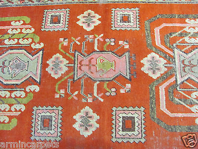 ANTIQUE TERRIFIC HANDMADE RUSSIAN KAREH BAGEH ORIENTAL RUG (240 x 147 cm)