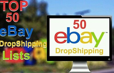 TOP 50 Dropshipping list PDF eBook