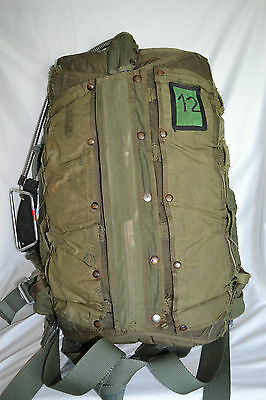Irvin 28 RS Parachute With Harness & Container Back Style 1960