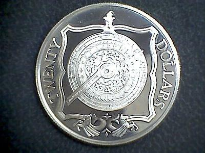 """Franklin Mint The Treasure Coins Of The Caribbean """"Brass Nocturnal"""" $20"""