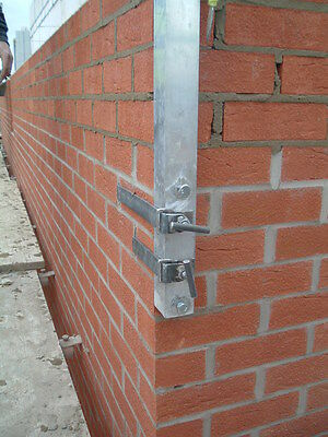 Bricklayers ali corner profiles extra long 2.3mtrs with vertical adjuster bolts