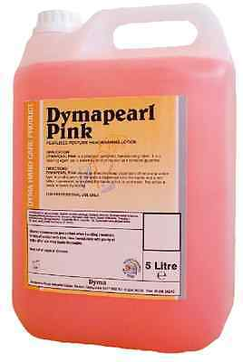 Dymapearl Pink Luxury Liquid Hand Soap Wash to Refill Washroom Dispensers