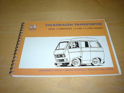 VW TRANSPORTER CAMPER CARAVELLE T25 TURBO DIESEL Owners Repair Manual Handbook