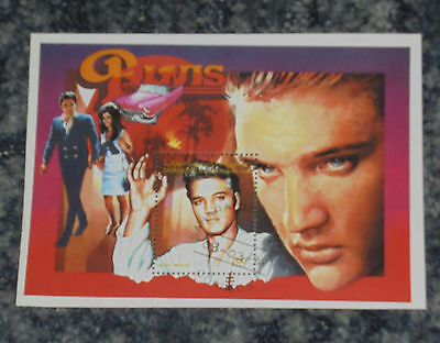 Elvis Presley - Mini Stamp Sheet - (2)