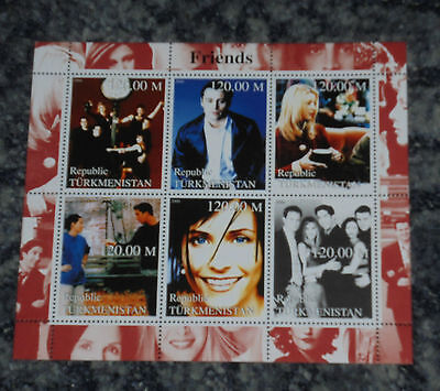 Friends -  Stamp Sheet - (3)