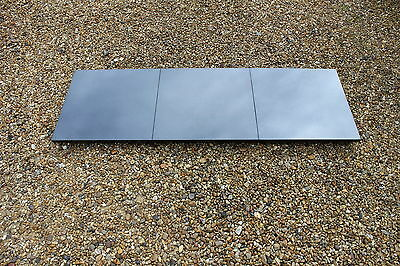"New Absolute Black Granite Hearth 48"" x 18"" for solid fuel fireplace"