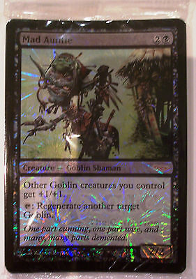 Magic The Gathering MTG MAD AUNTIE Promo Card x 8 FOIL - Sealed Pack