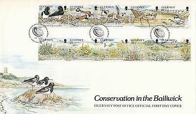 (96268) CLEARANCE GB Guernsey FDC Conservation in Baliwick 1991