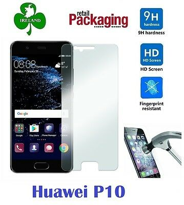 Premium Tempered Glass™ For Huawei P10 Screen Protector Film Guard New