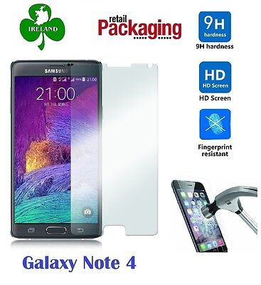 Premium Tempered Glass™ For Samsung Galaxy Note 4 Screen Protector Film Guard