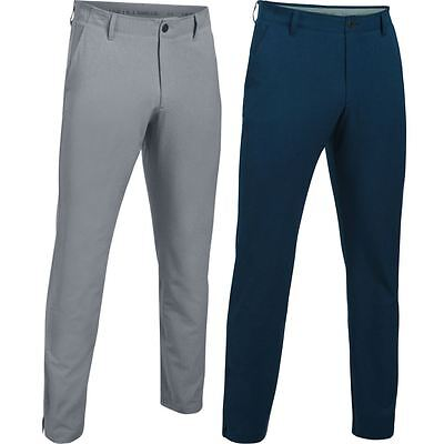 Under Armour 2017 Mens UA Match Play Vented Pants Golf Trousers - Tapered Leg