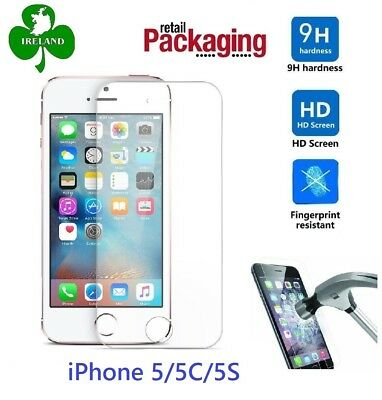 Premium Tempered Glass™ For Apple iPhone 5S Screen Protector Film Guard
