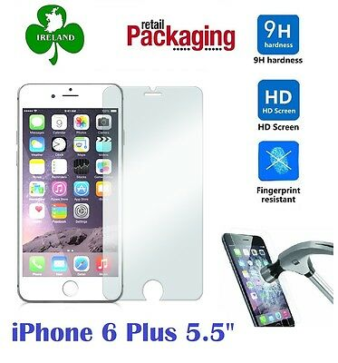 "Premium Tempered Glass™ For Apple iPhone 6 Plus 5.5"" Screen Protector Film"