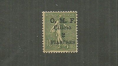 Cilicia Stamp #114 (Hinged) 19.