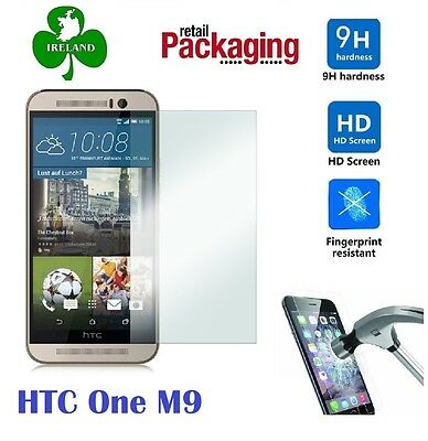 Premium Tempered Glass™ For HTC One M9 Screen Protector Film Guard