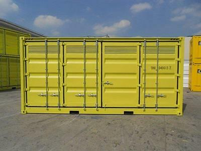 NEW 20ft / 6m 9'6ft High Cube Dangerous Goods shipping container / storage shed