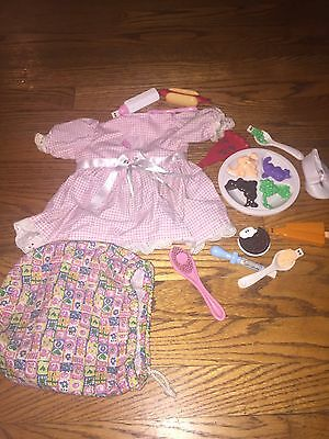 Amazing Amy Doll Interactive Play Food & Accesories HUGE Lot