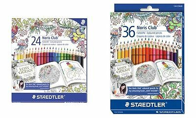 STAEDTLER Buntstift Noris Club, Johanna Basford Edition,36er, 4007817025086