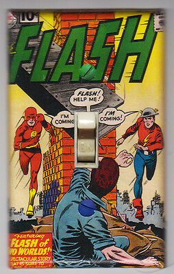 The Flash Light Switch Cover Plate - DC Comics Flash 123