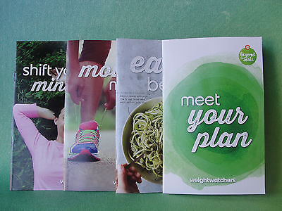 Weight Watchers 2017 SMART POINT Diet Plan Guides (4) to help you start the diet