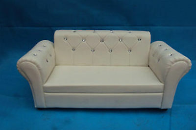 HOT New Photography Photo Props Baby White Sofa Couch Settee SF05