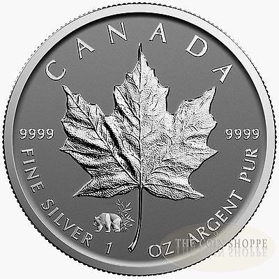 PANDA PRIVY II 2017 1 oz Pure Silver Maple Leaf Reverse Proof Coin