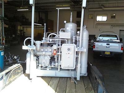 Complete Turn Key CNG Compressor Station Natural Gas NGV 2 Fill Position IR