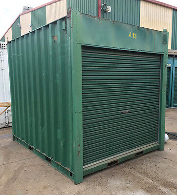 10ft / 3m long approx 9'6 High shipping container / Portable storage shed