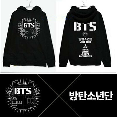Kpop BTS JIMIN Cap Hoodie WINGS Sweatershirt Bangtan Boys Sweater Coat Jacket